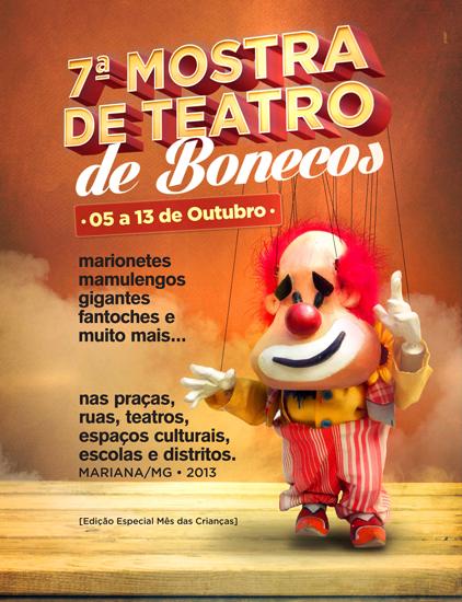 7ª Mostra de Teatro de Bonecos de Mariana (MG)