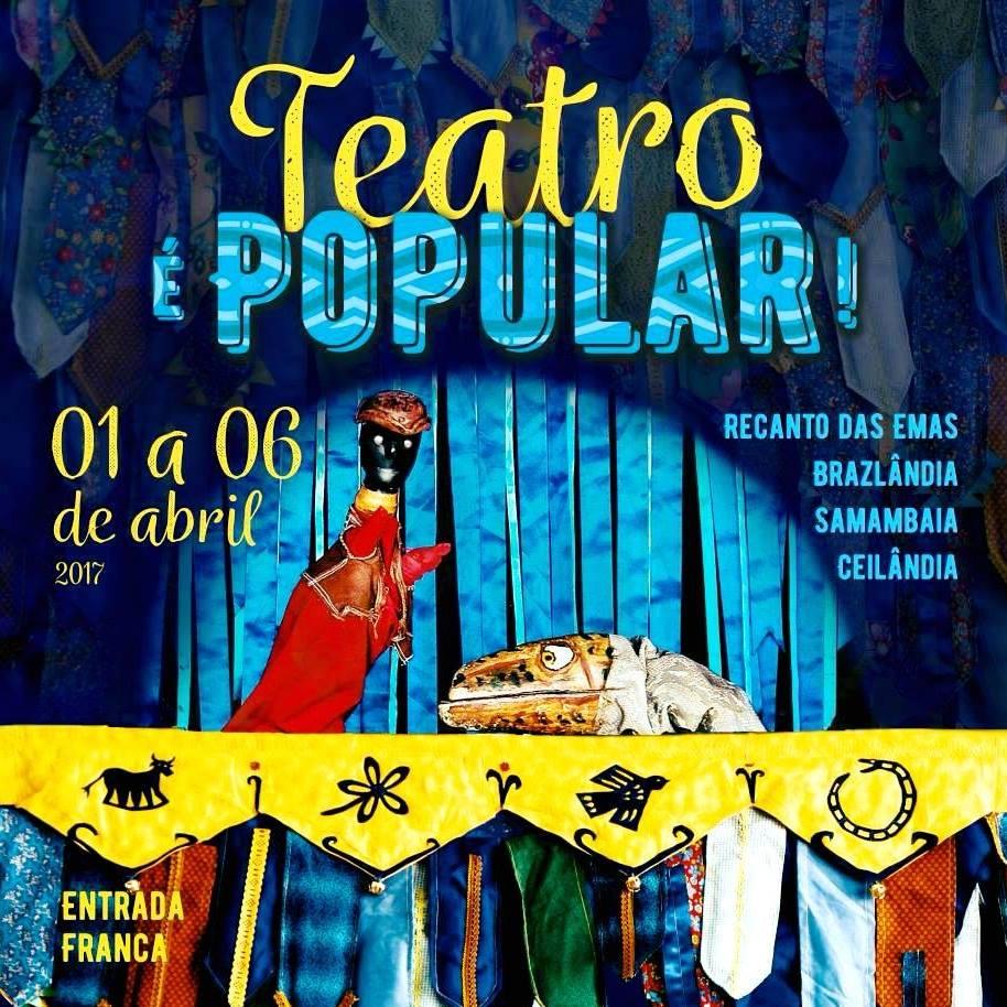 Teatro é Popular! 2017